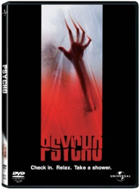 Psycho  (DVD) - Cover