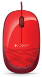 Logitech M105 Optical Mouse - Red
