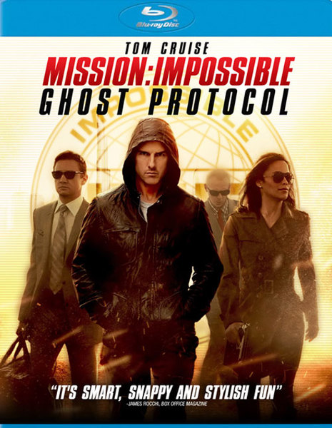 Mission Impossible Ghost Protocol Blu Ray