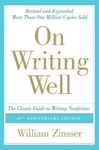 On Writing Well - William Knowlton Zinsser (Paperback)