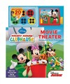Disney Mickey Mouse Clubhouse Movie Theater Storybook & Movie Projector - Tisha Hamilton (Hardcover) Cover