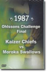 1987 Ohlssons Challenge Final - Chiefs Vs Swallows  (DVD)