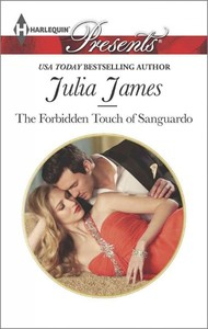 The Forbidden Touch of Sanguardo - Julia James (Paperback) - Cover