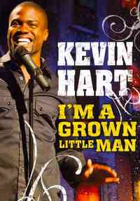 Kevin Hart - I'm a Grown Little Man (Region 1 DVD) - Cover