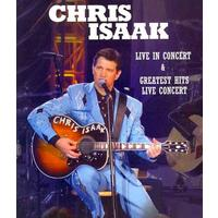 Chris Isaak - Greatest Hits: Live (Region A Blu-ray)