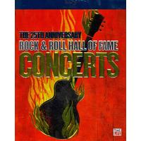 25th Anniv Rock & Roll Hall Fame Concert / Various (Region A Blu-ray)
