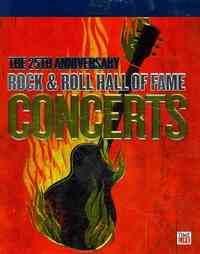 25th Anniv Rock & Roll Hall Fame Concert / Various (Region A Blu-ray) - Cover