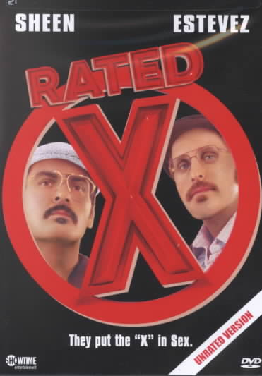 Rated X Region 1 Dvd Cover