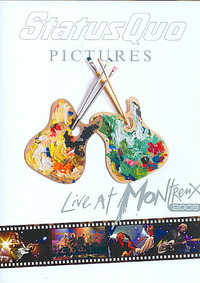 Status Quo - Pictures: Live At Montreux 2009 (Region 1 DVD) - Cover