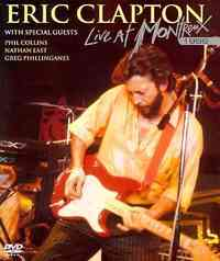 Eric Clapton - Live At Montreux (Region 1 DVD) - Cover