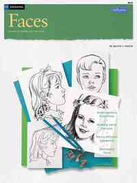 Drawing Faces - Walter Foster (Paperback) - Cover