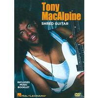 Tony Macalpine - Shred Guitar Instruction (Region 1 DVD)