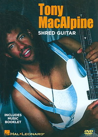 Tony Macalpine - Shred Guitar Instruction (Region 1 DVD) - Cover