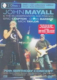 John & Bluesbreakers Mayall - 70th Birthday Concert: Special Edition (Region 1 DVD) - Cover