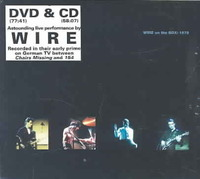 Wire - On the Box:1979 (Region 1 DVD) - Cover