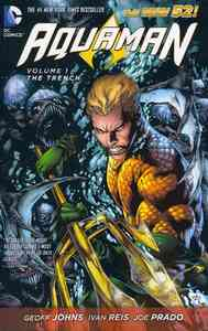 Aquaman Volume 1: the Trench (the New 52) - Geoff Johns (Paperback) - Cover