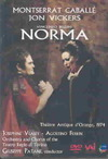 Bellini / Vickers / Caballe / Veasey / Patane - Norma (Region 1 DVD)