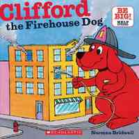 Clifford, the Firehouse Dog - Norman Bridwell (Paperback) - Cover