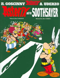 Asterix and the Soothsayer - Rene Goscinny (Paperback) - Cover