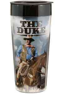 John Wayne 16 Oz. Plastic Travel Mug - LLC Vandor (Accessory) - Cover