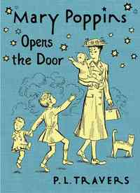 Mary Poppins Opens the Door - P. L. Travers (Hardcover) - Cover