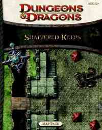 Shattered Keeps Map Pack - Wizards of the Coast LLC (Paperback) - Cover
