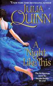 A Night Like This - Julia Quinn (Paperback) - Cover