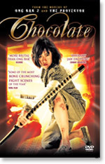 Chocolate (DVD) - Cover