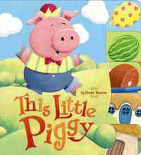 This Little Piggy (Board book) - Cover