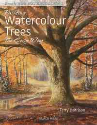 Painting Watercolour Trees the Easy Way - Terry Harrison (Paperback) - Cover