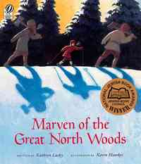 Marven of the Great North Woods - Kathryn Lasky (Paperback) - Cover