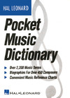 The Hal Leonard Pocket Music Dictionary - Hal Leonard Publishing Corporation (Paperback)
