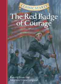 The Red Badge of Courage - Stephen Crane (Hardcover) - Cover