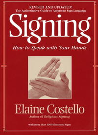 Signing - Elaine Costello (Paperback) - Cover