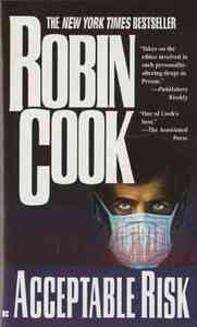Acceptable Risk - Robin Cook (Paperback) - Cover