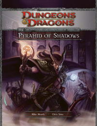 Dungeons & Dragons Pyramid of Shadows - Mike Mearls (Hardcover) - Cover