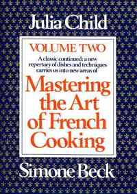 Mastering the Art of French Cooking - Julia Child (Paperback) - Cover