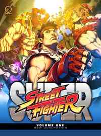 Super Street Fighter 1 - Ken Siu-Chong (Hardcover) - Cover