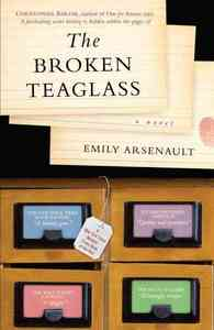 The Broken Teaglass - Emily Arsenault (Paperback) - Cover