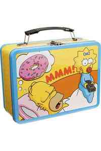 The Simpsons Large Tin Tote - LLC Vandor (Accessory) - Cover