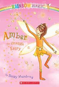 Amber the Orange Fairy - Daisy Meadows (Paperback) - Cover