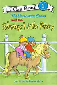 The Berenstain Bears and the Shaggy Little Pony - Jan Berenstain (Hardcover) - Cover