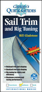 Sail Trim and Rig Tuning - Bill Gladstone (Paperback) - Cover