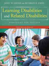 Learning Disabilities and Related Disabilities - Beverley H. Johns (Hardcover) - Cover