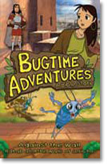 Bugtime Adventures A Bible Story - Against The Wall - The Rahab Story (DVD) - Cover