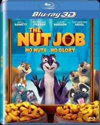 The Nut Job (3D Blu-ray) - Cover