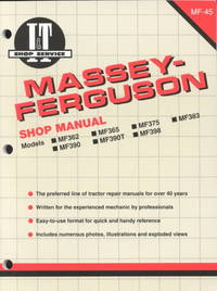 Massey-Ferguson Shop Manual (Paperback) - Cover