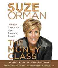 The Money Class - Suze Orman (CD/Spoken Word) - Cover