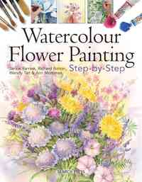 Watercolour Flower Painting Step-By-Step - Wendy Tait (Paperback) - Cover