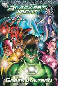 Blackest Night - Geoff Johns (Paperback) - Cover